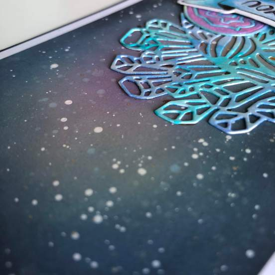 Carte cosmique et cristaux détail 1
